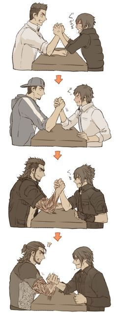 I still don't think Noct could've beaten Gladio, even at 30.