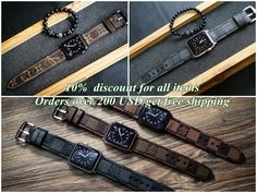 Handmade vintage leather strap for Apple Watch 1 and 2 (38mm or 42mm)  Please reach us www.bonanza.com/booths/exclusivesticker for more designs  #apple #appleonly #applewatchsport #iphone7 #iphone5s #applewatchsport #applewatchedition #iphone #iphoneonly #iphone6plus #iphonedaily #iphoneology #instatime #dailywatch #iphoneography #womw #watches #wornandwound #watchesofinstagram #appleiphone #smartwatch #applewatchseries2 #iphone7plus #watchporn #iphone6 #iphone6s