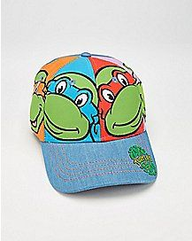 TMNT Baseball Baby Hat