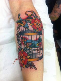 inspiration for birdcage tattoo