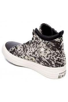 Converse Women's Chuck Taylor All Star Selene Wedged Boots - Black/Gold - UK 4 #modasto #giyim #moda https://modasto.com/converse/kadin/br1947ct2