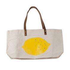 LEMON Canvas bag 1