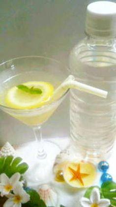 塩レモンで熱中症対策フレーバーウォーター