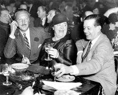 William Rhinelander Stewart Jr, Elsa Maxwell and Cole Porter 1934