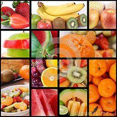 Sammlung frische Früchte, Bild der hohen Auflösung von köstlichen Früchten.