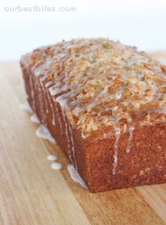 Coconut Banana Bread with Lime - tried it, kids loved it. More moist than usual recipes.