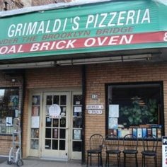 Under the Brooklyn Bridge Best Pizza in the World!