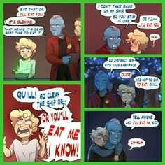 Guardians of the Galaxy: Yondu & Peter Quill