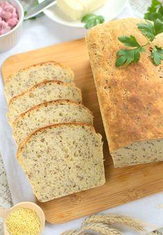Chleb z kaszą jaglaną (nocny)
