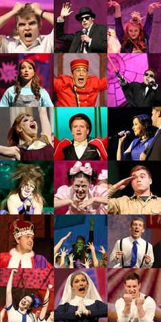 The many faces of Baylor Sing. #SicEm