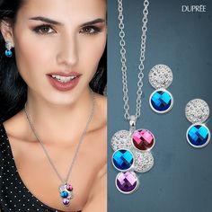 Estuches para brillar #collares #brillo #elegante #complemento Dupree Colombia Pendant Necklace, Jewelry, Fashion, Glow, Colombia, Necklaces, Trends, Elegant, Jewellery Making