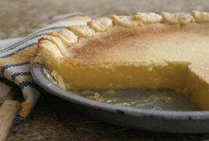 Lemon Chess Pie -- naked lemon-ness