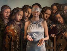 Paintings by Agnieszka Nienartowicz | #art #painting