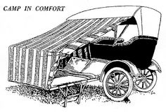Real early car campaign!