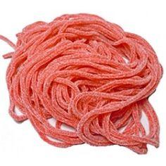 Sour Strawberry Licorice Laces