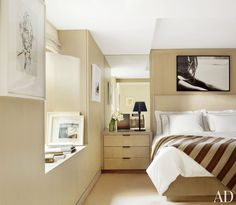 #Modern #Bedroom by MAC II and #John #Pawson in #New York, New York