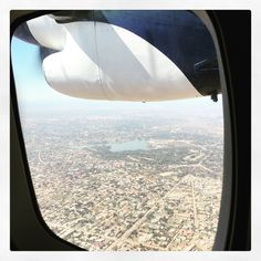 Flying over #Lubumbashi in the Congo on our way to our first filming location.