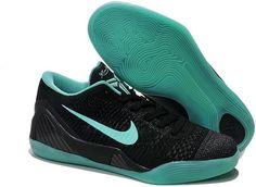 Nike Kobe 9 Elite Low Custom Black Green