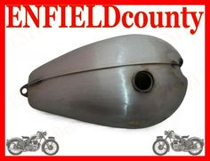 NEW VINTAGE BARE METAL BRITISH TRIUMPH T120R TR6 650cc FUEL TANK ready to paint