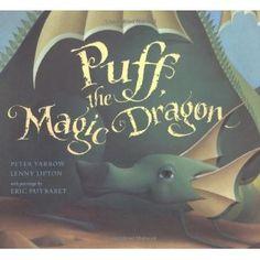 Beautiful & A Traveler of Time Past... By Peter Yarrow, Lenny Lipton: Puff, the Magic Dragon. Peter Yarrow, Lenny Lipton (Book & CD)
