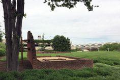 Abingdon Plantation Ruins in Arlington Virginia