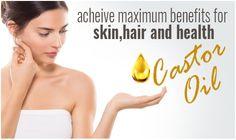 Pure Castor Oil, Organic Castor Oil, Skin Care Regimen, Skin Care Tips, Castor Oil Benefits, Body Issues, Improve Blood Circulation, Skin Care Treatments