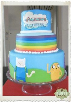 Adventure time!! - Cake by sweetmania