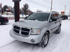 2008 Dodge Durango, 112,056 miles, $10,999.