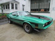1971 Ford Mustang Mach I, 429 J Code