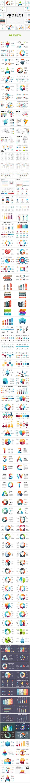 Project - 171 Unique Infographic Slides - PowerPoint Templates Presentation Templates