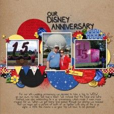 15th Anniversary - MouseScrappers - Disney Scrapbooking Gallery