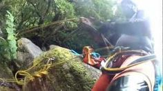 Canyoning in The Azores, via   RadioLynxContent  In the blue Atlantic Ocean, between two continents you will find The Azores.   Portuguese owned and the most westerly point in Europe, all the nine islands of the Azores Archipelago are of volcanic origin...And if you are a fan of extreme adventure, you would find them fortunate for different reasons.  #Portugal