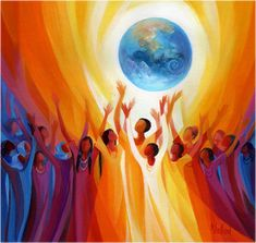 artwork of the holy spirit by mary southard - Google Search Half The Sky, Woman Singing, Happy International Women's Day, Sacred Feminine, Devine Feminine, Feminine Energy, Art Therapy, Ladies Day