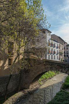 Río Darro, Granada, Spain