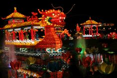 Go to the Lantern Festival in China..