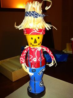 Terra+Cotta+Pot+Crafts | Scarecrow made from terra cotta pots | Crafts
