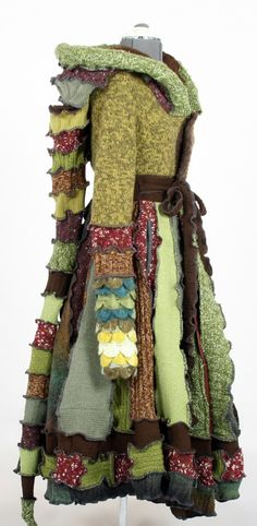 One of a Kind Patchwork Coat - Reserved for Naomi -   EnlightenedPlatypus  Dream Coats by Enlightened Platypus