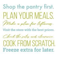 The Good Cheap Eats system is a proven way to save money on groceries so you can do bigger, better things. Imagine the possibilities! Save Money On Groceries, Ways To Save Money, Money Saving Tips, Second Mortgage, 100 Words, Make A Plan, Debt Payoff, Good And Cheap, Shopping Hacks