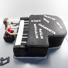 Piyano pasta, Piyano doğum günü pastası, butik pasta, çocuk pastaları #piyano #piyanopasta #butikpasta #çocukpastası #doğumgünüpastası