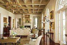 ken tate and ann holden ad  One of my favorite rooms!