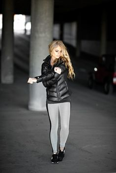 Winter fitness apparel