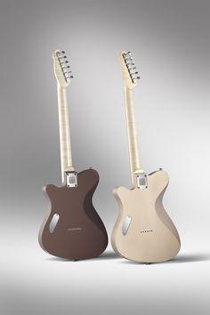 TAO Guitars tribute to Leo. Back.