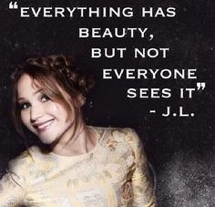 I have always said this! So glad my absolute favorite actress is on the same page as me. #innerbeauty