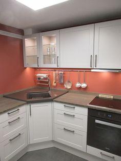 LEICHT Küchen; Programm KANTO CARRÈ-FS #lack #seidenmatt # Landhaus  #eckspüle
