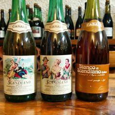 Cool Vintage #lambrusco wine labels at Casali.. - Instagram by ccfoodtravel