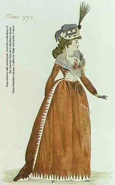 fashion plate Robe a la mode 18th Century Dress, 18th Century Costume, 18th Century Fashion, Historical Costume, Historical Clothing, Rococo Fashion, Vintage Fashion, Marvel Comics, Ghost In The Shell