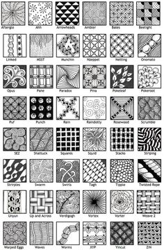 If you are looking for a different way to challenge or express your creativity while practicing a therapeutic activity why not try Zentangle?