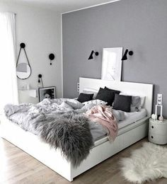 Sublime Useful Tips: Minimalist Living Room Tv Fire Places minimalist home with kids clutter.Minimalist Bedroom Scandinavian Grey minimalist home office decoration.Minimalist Home Office Layout. Room Decor, Bedroom Makeover, House Rooms, Bedroom Decor, Room Makeover, Bedroom Colors, Bedroom Inspirations, Bedroom Design, New Room