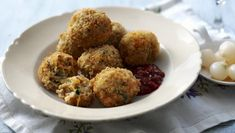 Bitterballen |      These Dutch meatballs are great as a snack, try serving them with chutney or pickled onions.