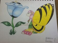 Flower fairy redraw (in color!) ©Madeline Secules#TDQ